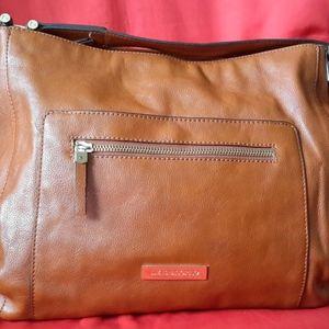 Women's Liz Claiborne Brown Polyurethane Handbag